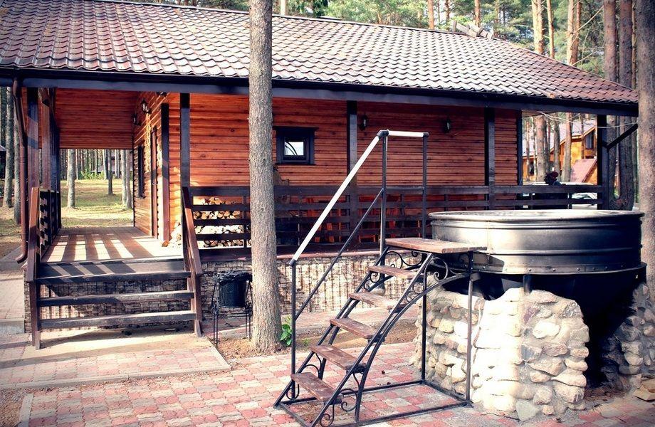 Современная база отдыха в Вологодской области.