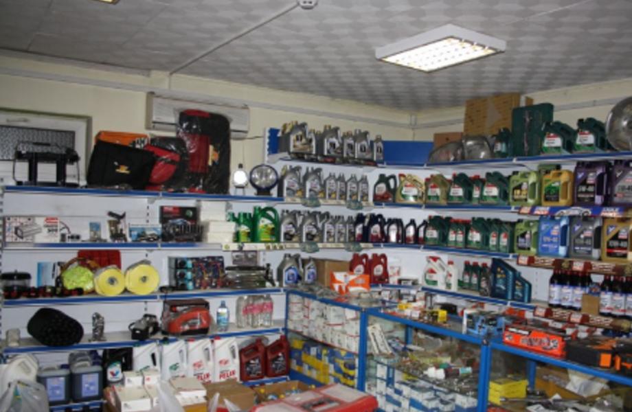 Работающий прибыльный автомагазин на территории автосервиса