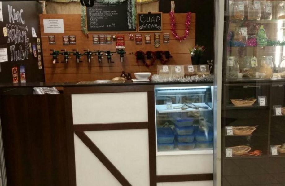 Отдел-магазин разливного  пива