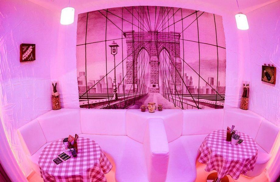 Ресторан с хорошим дизайном