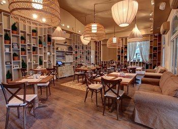 Загородный ресторан на берегу Финского залива