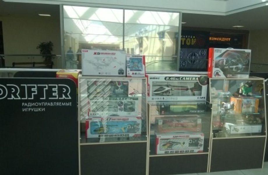 Островок радиоуправляемых игрушек в популярном ТК (Север города)