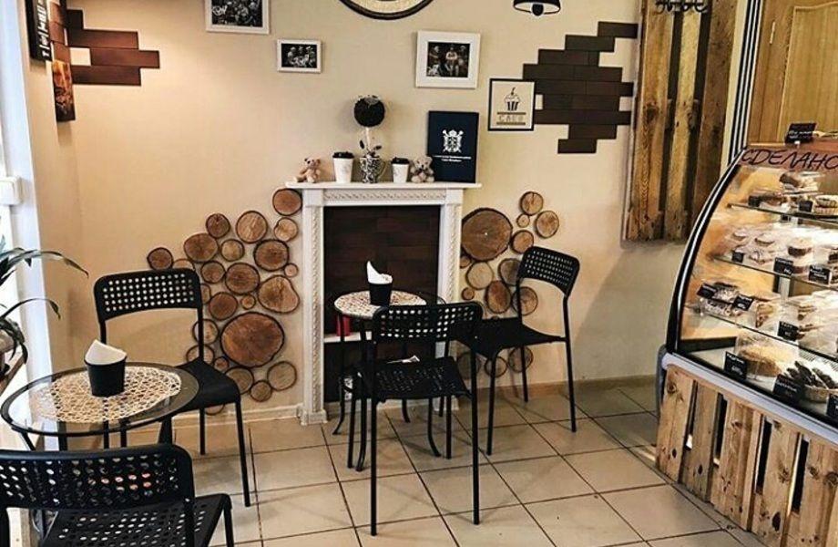 Кафе пекарня в проходном месте