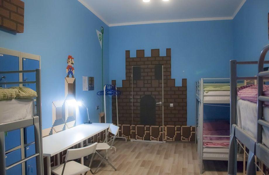 Известный хостел в Петроградском районе