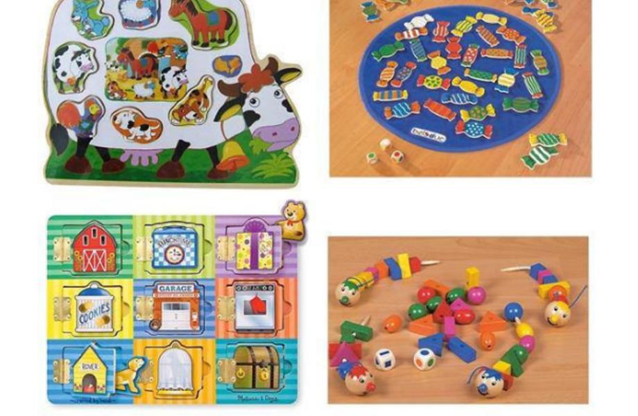 Крупный магазин детских товаров