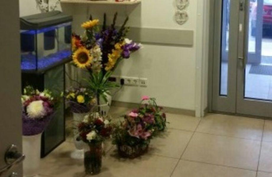 Цветочный магазин с высокой проходимостью