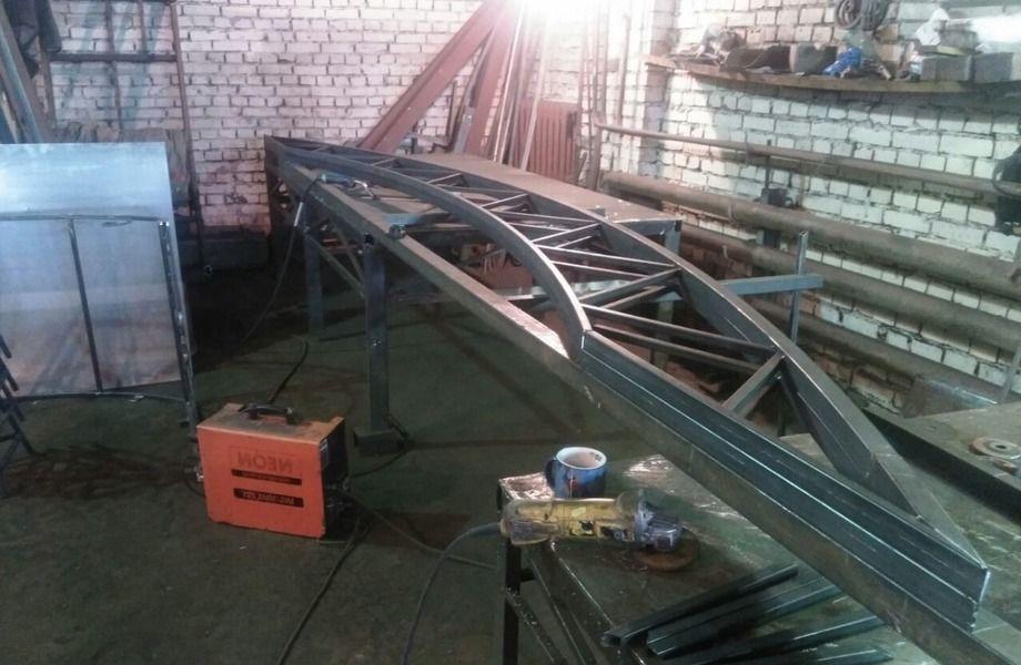 Производство металлоконструкций (кованые изделия )