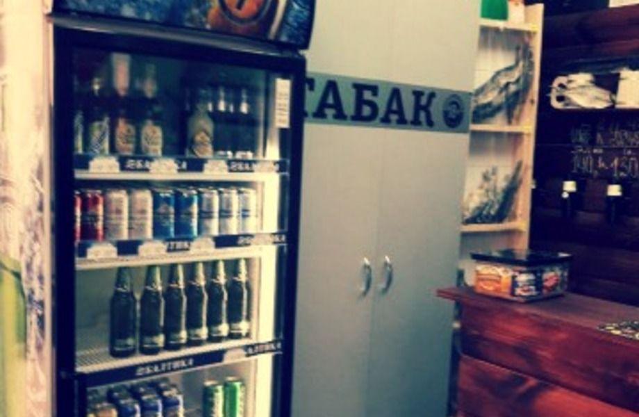 Магазин пиво-рыба-табак