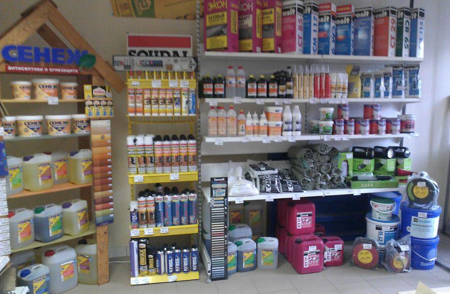 Строительный магазин шаговой доступности