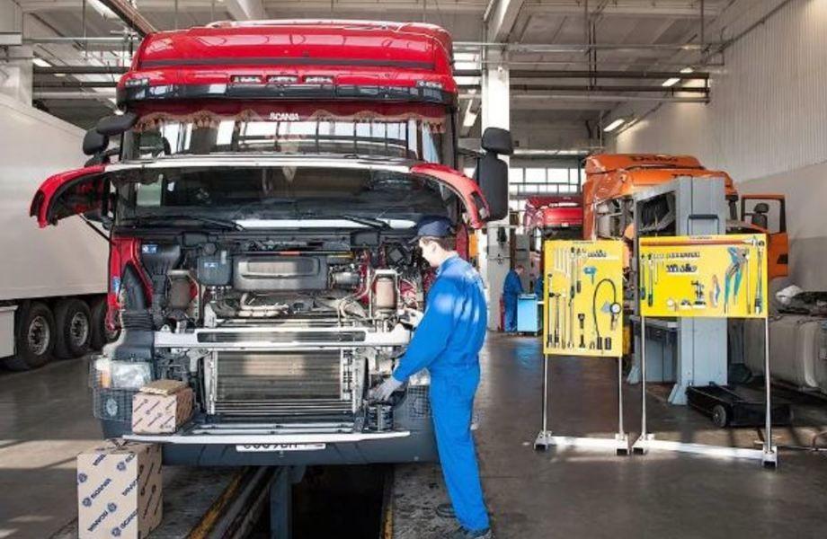 Прибыльный грузовой автосервис с заключенными контрактами