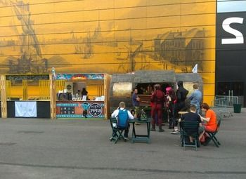 Бургерная в центре на Василевском острове