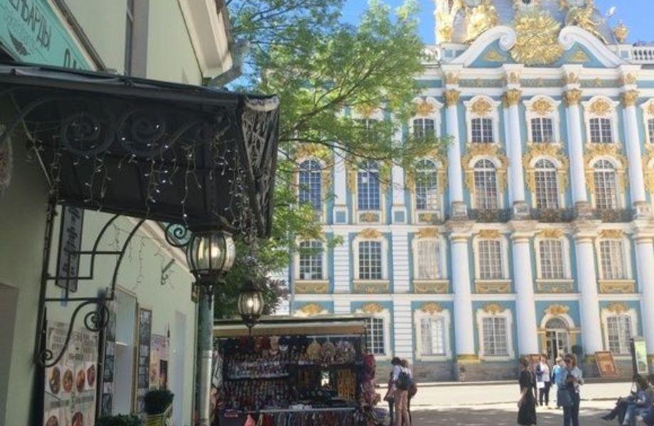Комплексный бизнес для туристов в центре Пушкина