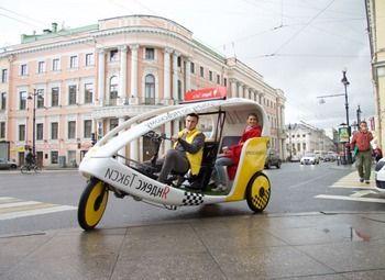 Велотакси в центре СПб по стоимости оборудования