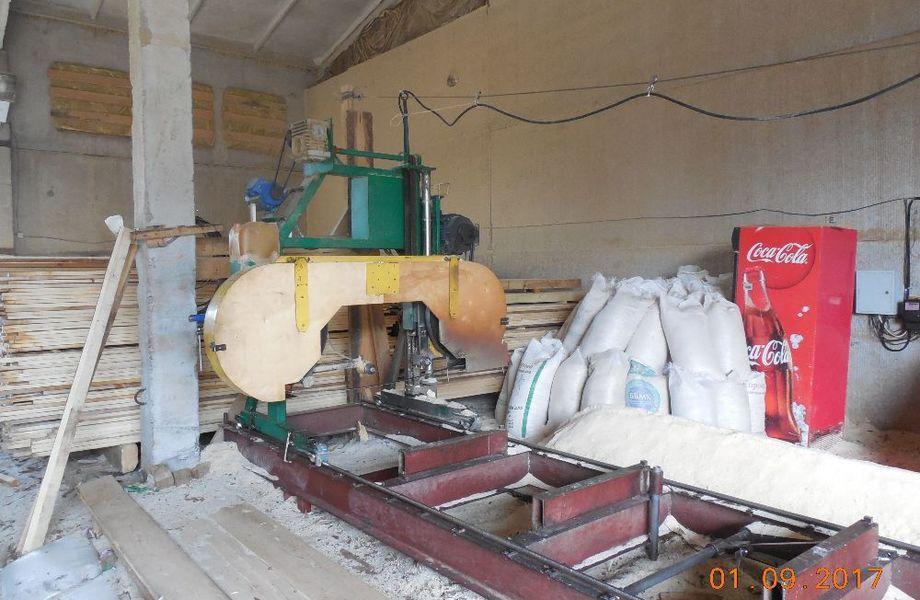Действующее производство домов из профилированного бруса