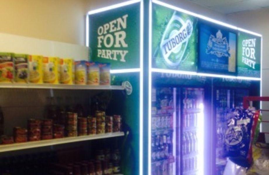 Магазин 24 часа (с алкогольной лицензией)