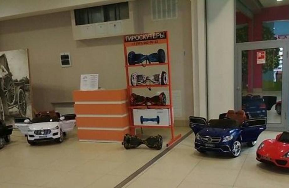 Прокат и продажа детских электромобилей и гироскутеров