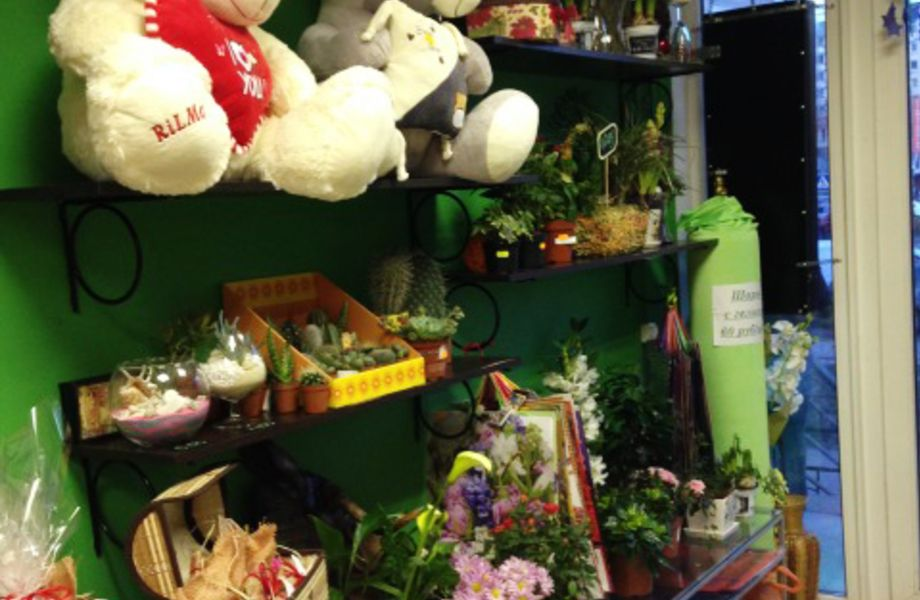 Цветочный магазин (Низкая аренда)