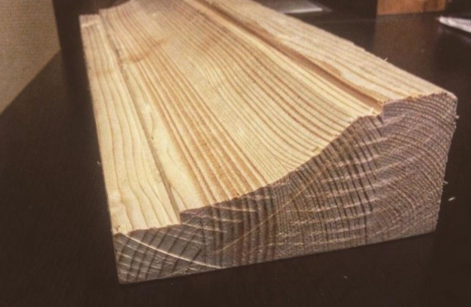 Налаженное производство клееного бруса и погонажных изделий