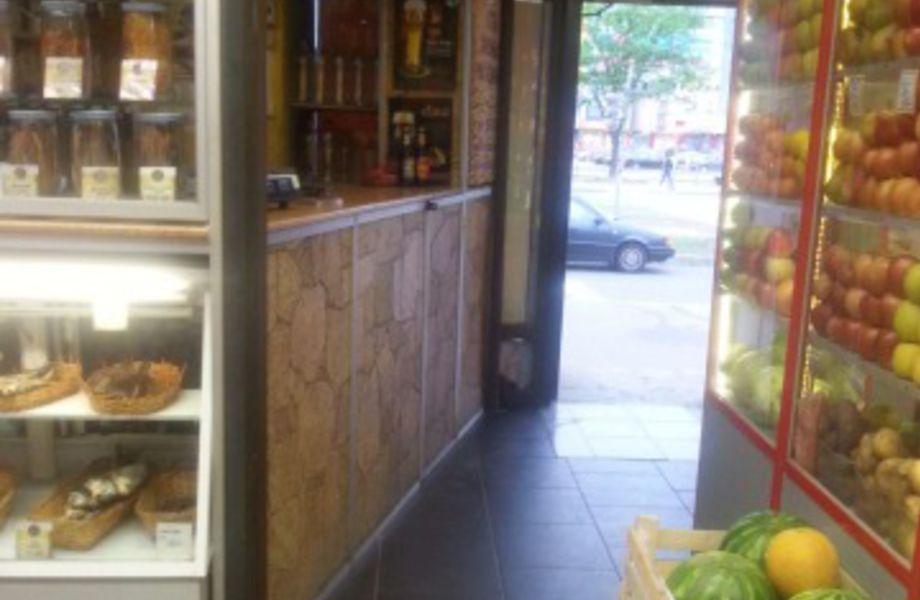 Отдел Пиво - Рыба в продуктовом магазине