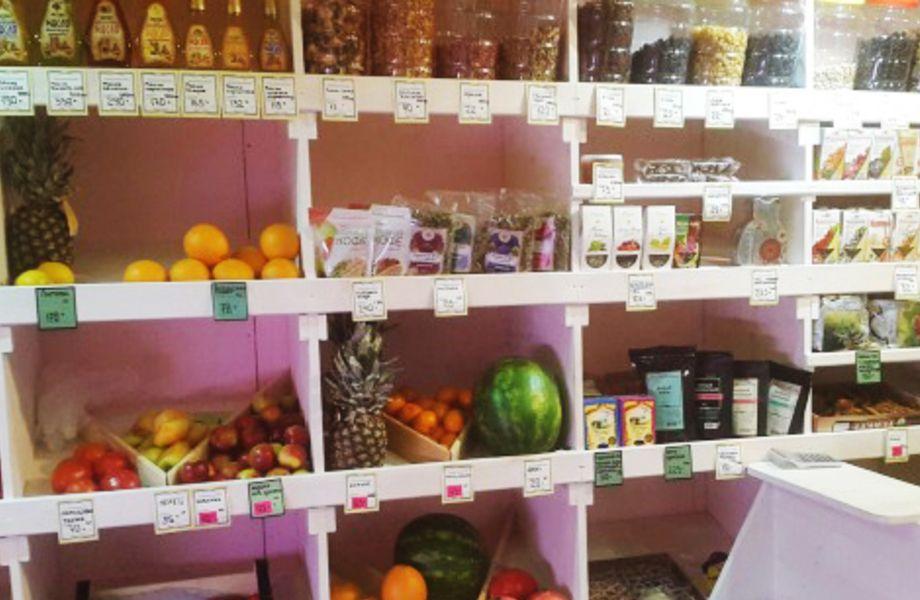 Отдел фрукты - овощи (7 лет работы)