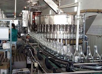 Производственная линия Ликероводочного завода