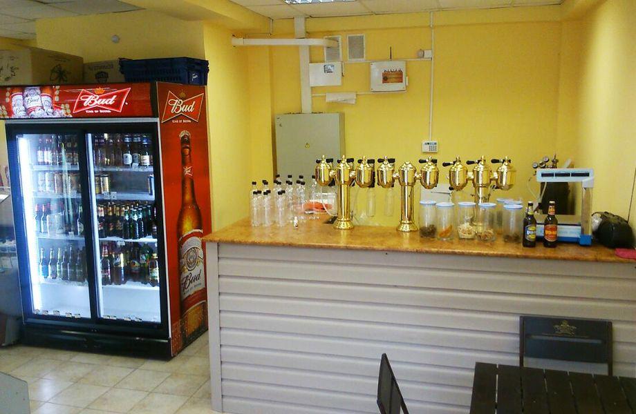 Отдел по продаже разливного пива