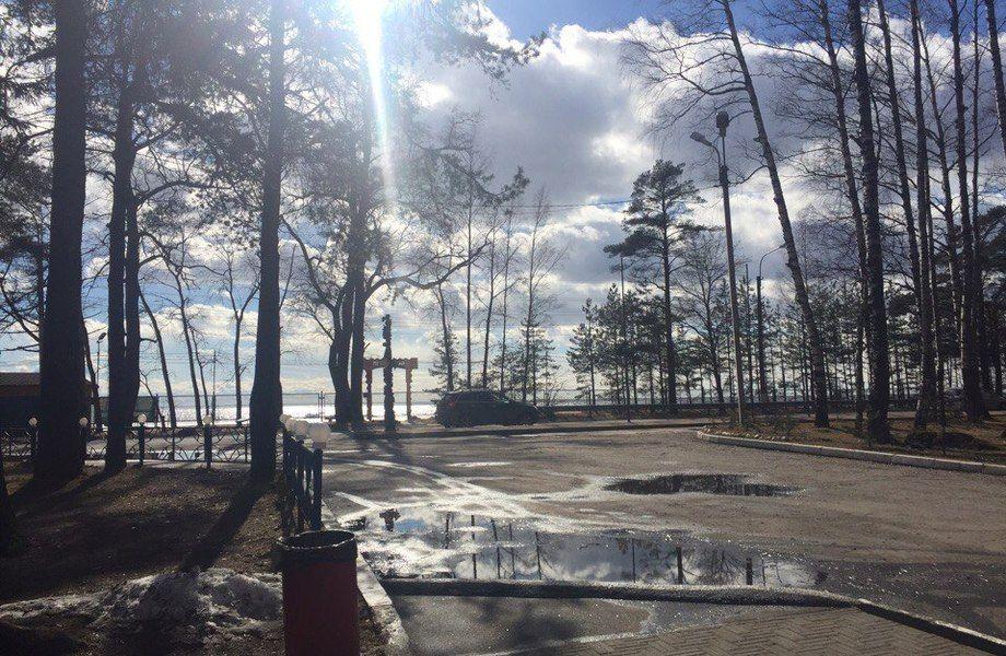 Ресторан на берегу Финского залива
