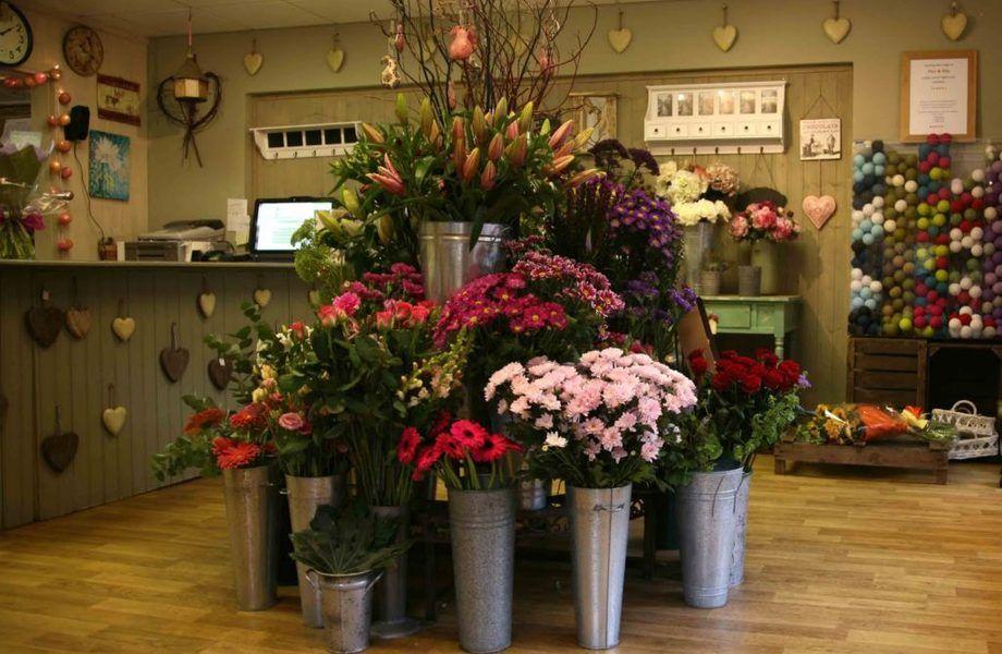 Цветочный магазин в Приморском районе