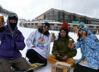Передвижная кофейня на горнолыжных курортах