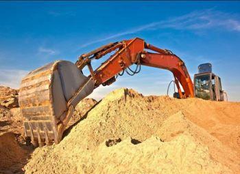 Песчаный карьер в Лужском районе