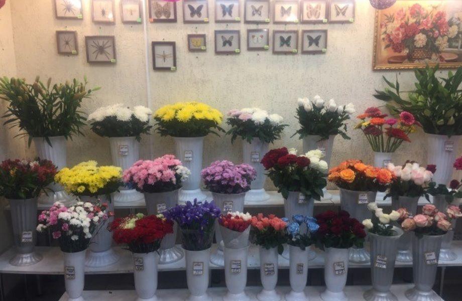 Цветочный Магазин На Севере у Дороги