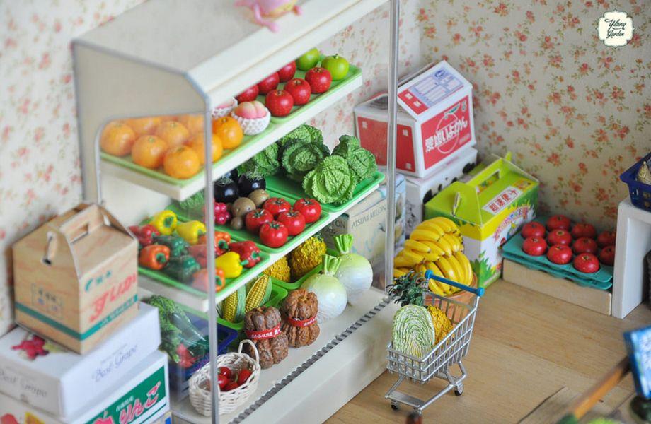 Продуктовый магазин (Огромная перспектива)