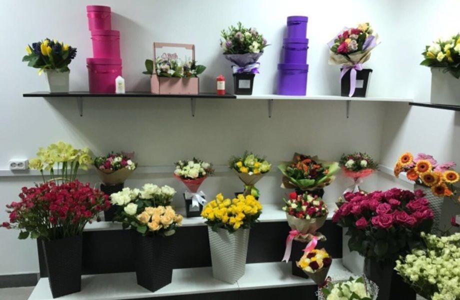 Цветочный Магазин На Севере Города У Метро