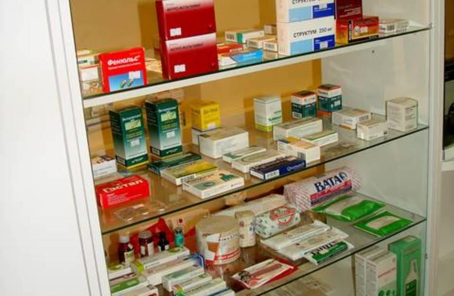 Аптека в густонаселенном районе