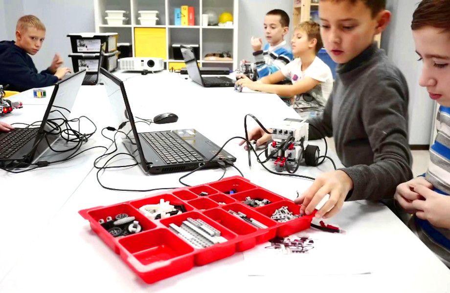 Детский клуб робототехники