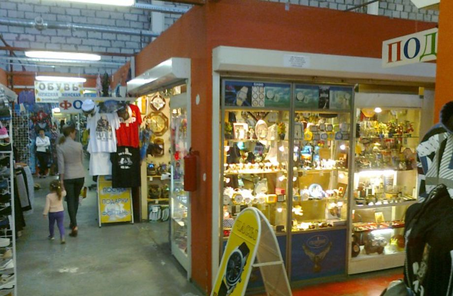 Отдел по продаже сувениров и подарков в ТК
