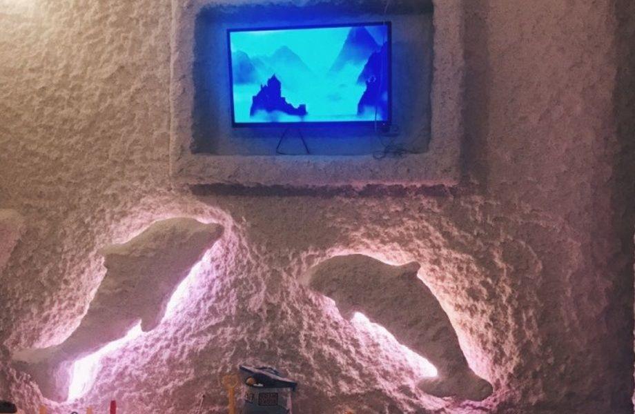 Доходная соляная пещера