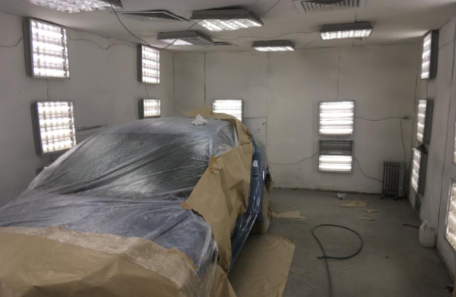 Автомастерская кузовного ремонта
