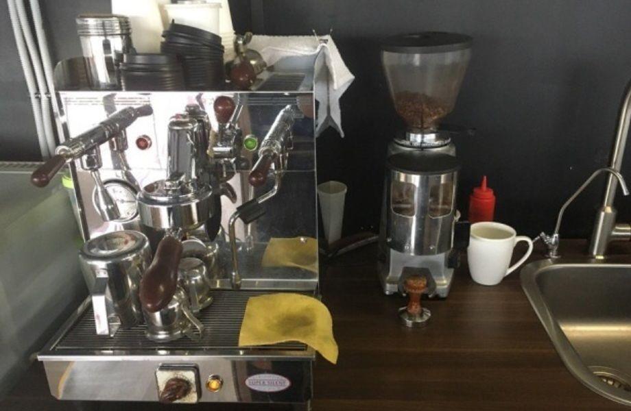 Кофейная точка в Торговом Комплексе
