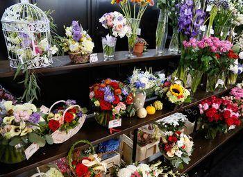 Прибыльный Цветочный Магазин в Западной Части Города