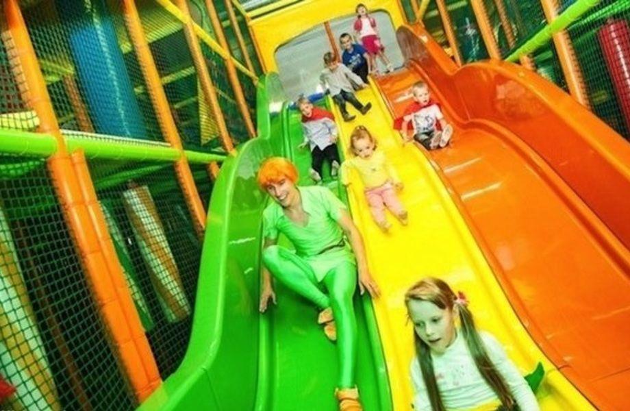 Семейный Развлекательный Парк в Торговом Комплексе