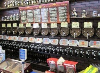 Магазин разливного пива возле метро