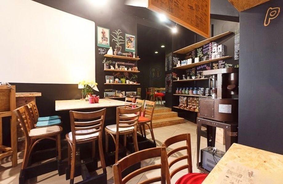 Уютная кофейня с высоким доходом