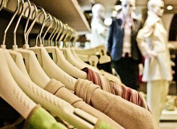Раскрученный магазин одежды в центре города