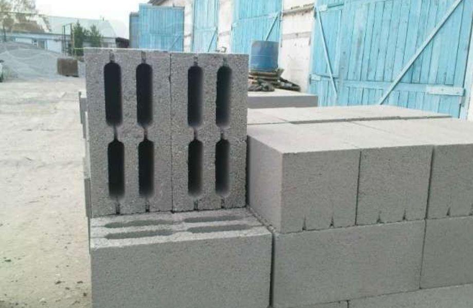 Производство строительных блоков (налаженный сбыт)