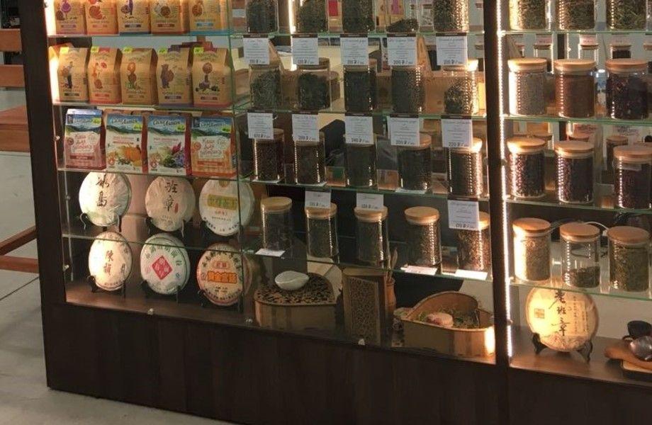 Островок по продаже китайского чая