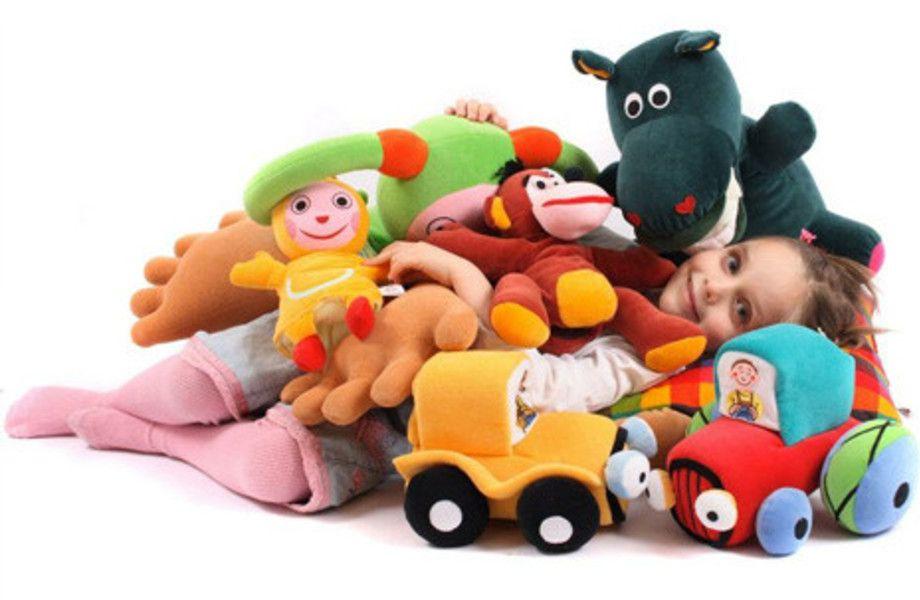 Островок детских игрушек