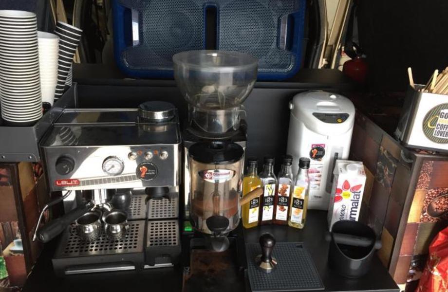 Передвижной Автономный Кофе с Собой