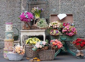 Магазин цветов и подарков на севере