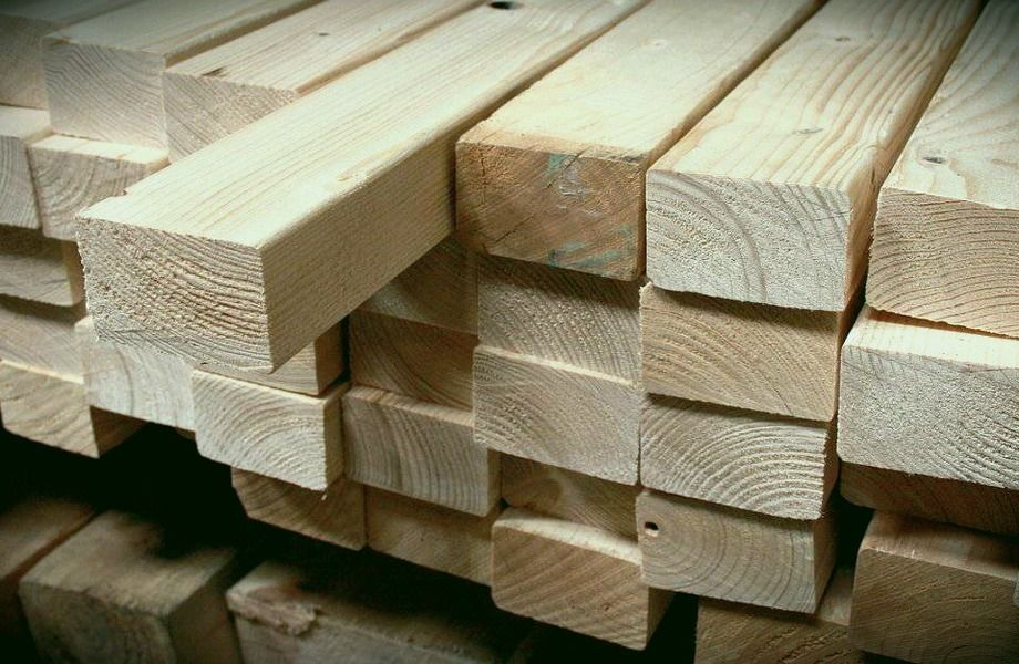 Лесопроизводство в Гатчине